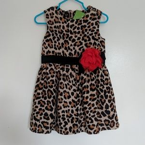 NWT KATE SPADE Toddlers' Classic Leopard Dress